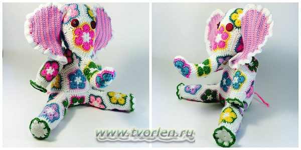 слоник в цветочком (3)