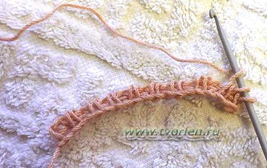 соты тунисским крючком (3)