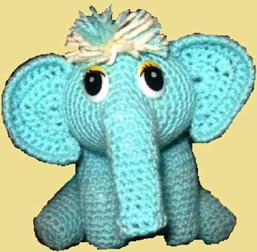 слоник крючком (10)