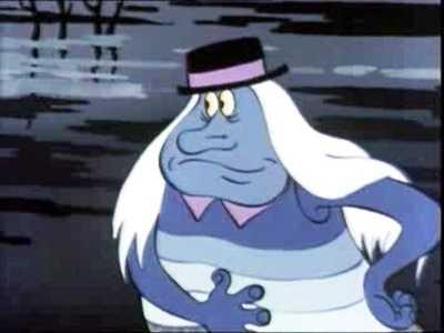 водяной из мультфильма