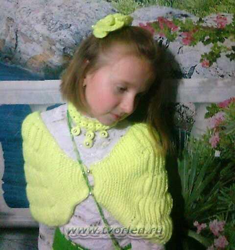 Вязанные украшения от Ларисы Киселёвой (интервью) и МК по вязанию серёжек