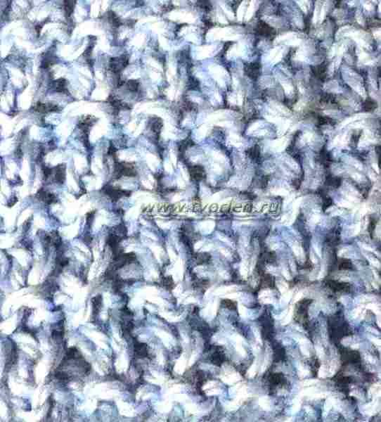 простые рельефные узоры спицами (1)
