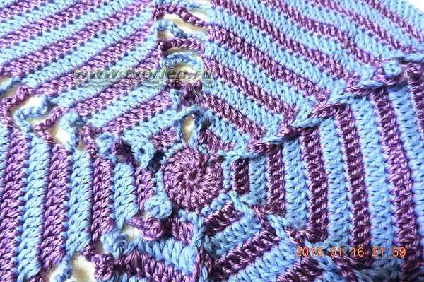 подушка крючком карамелька (4)