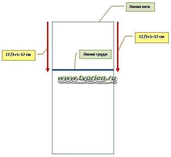 как сделать выкройку для безрукавки (1)