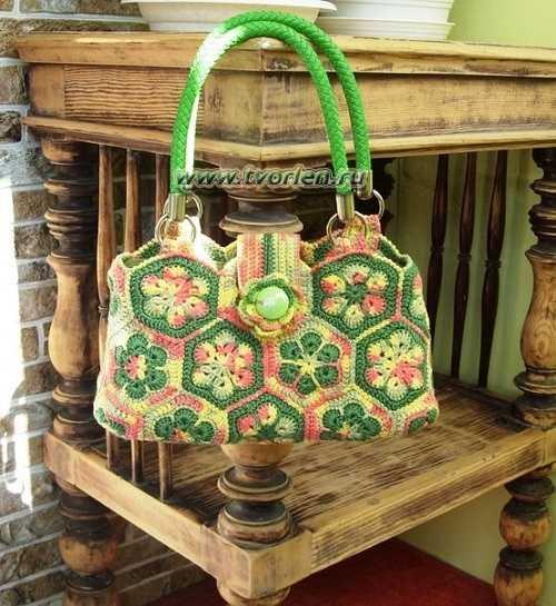 вязаные сумки (1)