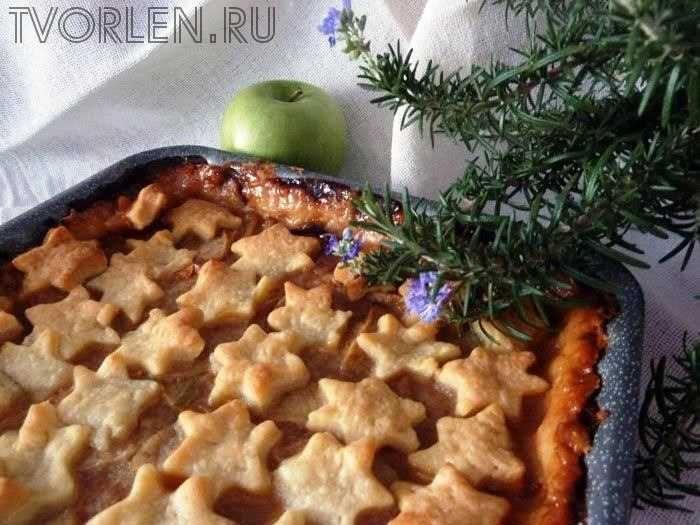 пирог яблочный пай