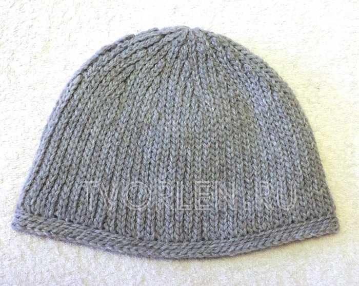 шапка крючком соединительными столбиками