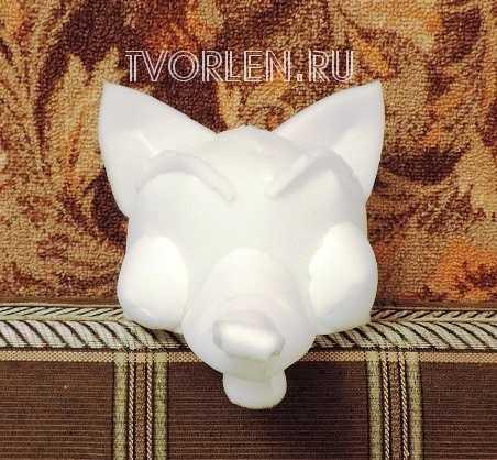 как сделать маску лисы из поролона