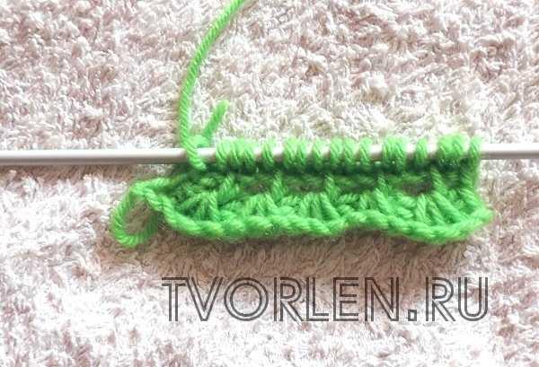 ажурные узоры тунисским крючком (5)