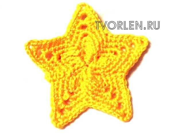 звёздочка крючком (2)