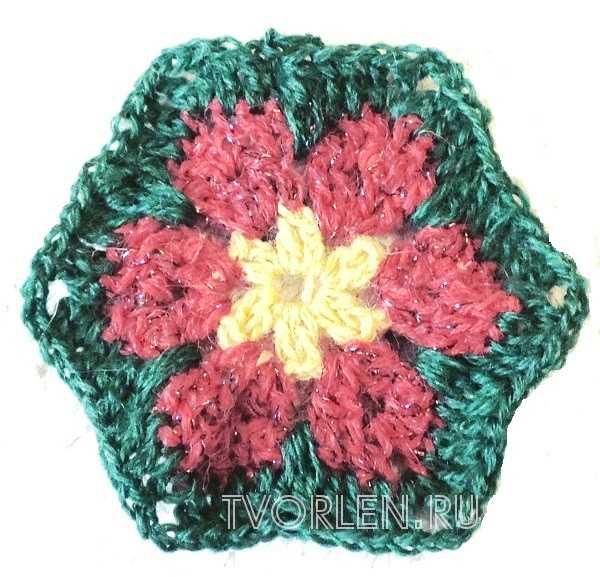 цветочный мотив крючком(2)