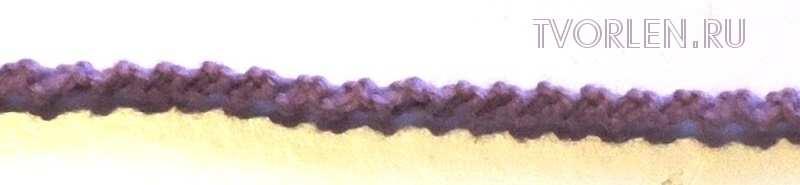 шнур узелками