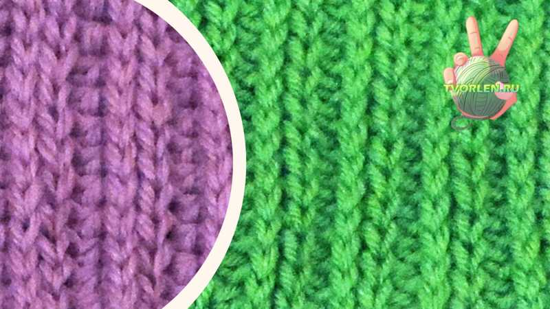 Как вязать крючком резинку 2 на 2 или имитация резинки крючком –описание и видео (2 варианта)